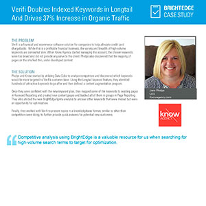 Know Agency - Case Study - Value of Long Tail Keywords